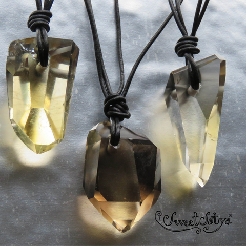 Citrine Necklace SweetSatya