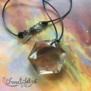 Hexagonal Crystal Pendant Jewelry