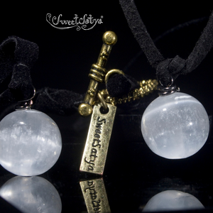 Selenite Transformative Necklace SweetSatya