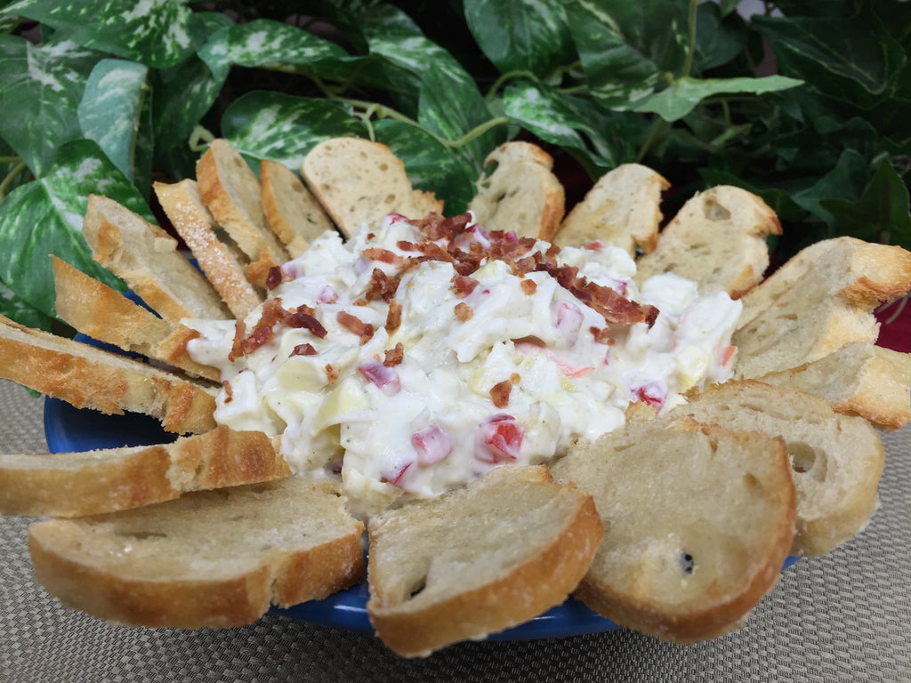 Easy Artichoke Crab Dip Recipe