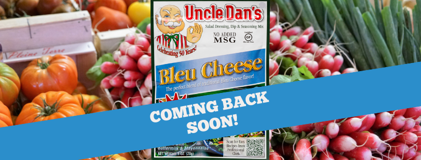 Bleu Cheese is Coming Back Soon, We Promise!