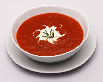 Roasted Tomato Bisque with Ranch Creme Fraiche Recipe
