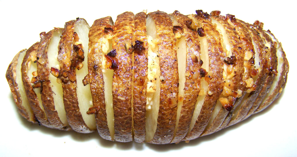 Baked Sliced Potatoes Recipe