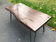 Live Edge Wormy Bench/Coffee Table - worngrainworks