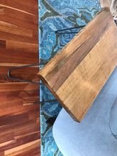 Reclaimed Cherry, Spruce, & Pine Side Table. - worngrainworks