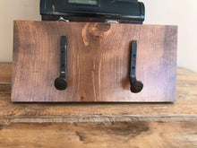 Reclaimed Double Railroad Hanger. - worngrainworks