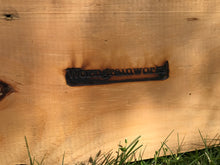 Welded Steal Bar Hanger on Barn board. - worngrainworks
