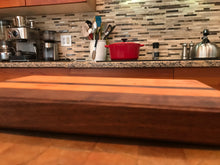 Black walnut and cherry cutting board - worngrainworks