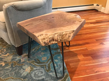 Gorgeous Black Walnut Side Table. - worngrainworks