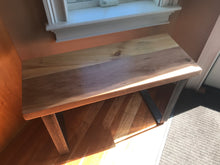 Reclaimed Cherry & Pine Coffee Coffee Table / Bench - worngrainworks