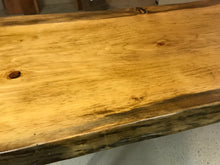 Beautiful Live Edge Desk with Newly fabricated thick Hairpin Legs. - worngrainworks