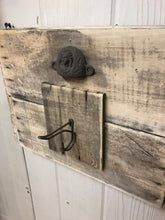 1800's ornate handle with reclaimed barn board. - worngrainworks