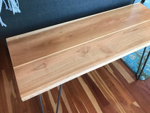 Beautiful Cherry Pine & Oak Side Table