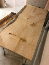 Large Live Edge Desk. - worngrainworks