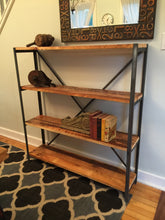 Reclaimed Barn Board Bookshelf - worngrainworks