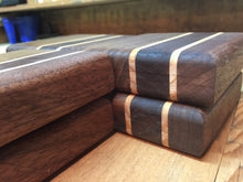 Beautiful Thick Black Walnut Coasters  set of 6 - worngrainworks