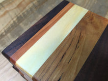 Handcrafted Coasters Reclaimed from Cherry, Pine, & Black Walnut (Set of 5) - worngrainworks