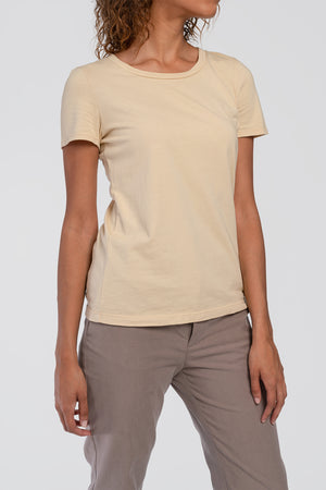 AGA | Ivy Short Sleeve Crewneck Tee Coffee