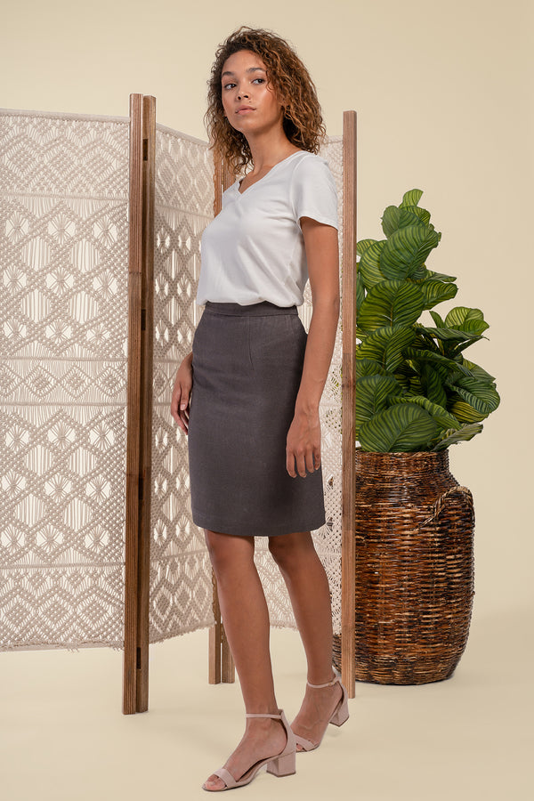 AGA | Heidi Pencil Skirt Myrobalan