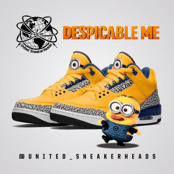 Minion 3 Jordan Sneaker Concept : Sneaker Concepts and Release Info