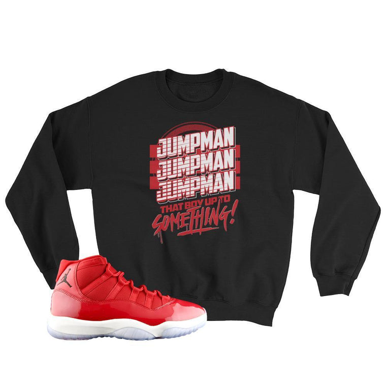 Jordan 11 Win Like 96 Jumpman Sweater