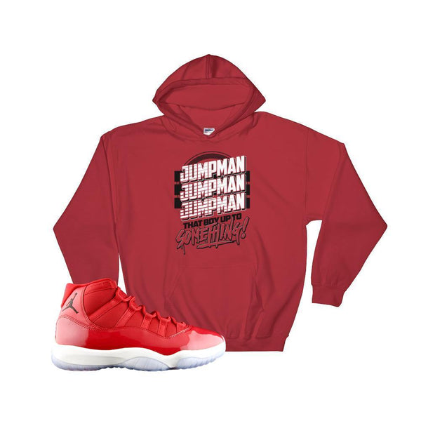 jordan 11 gym red hoodie : retro 11 gym red Chicago hooded sweatshirt : Jordan 11 sweaters