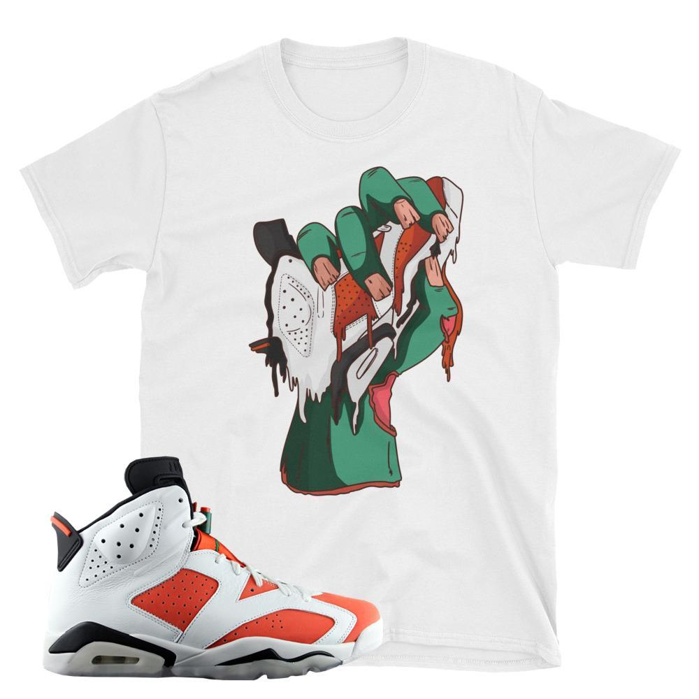 jordan 6 gatorade tee shirt : retro 6 gatorade tees : Gatorade 6 like mike shirts