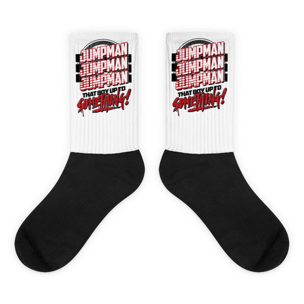 Jordan 11 Gym Red Socks, Retro 11 Jordan socks, Gym Red sneaker socks