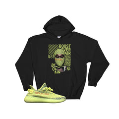 Yeezy Boost 350 Semi Frozen Hooded Sweatshirts, Yeezy boost shirts and tees