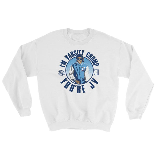 Jordan 11 Midnight Navy UNC Crewneck Sweatshirts