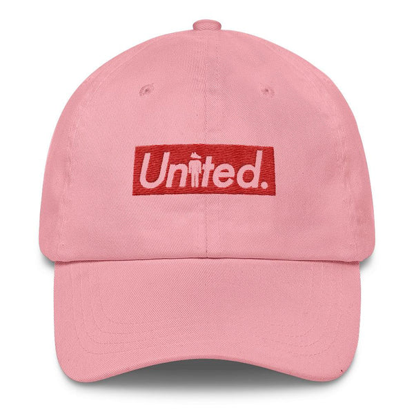 Pink Supreme Box Logo Hat