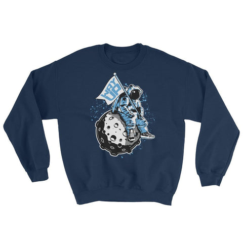 Jordan 11 Midnight Navy Sweater : Retro 11 Midnight Navy, UNC Sweatshirt