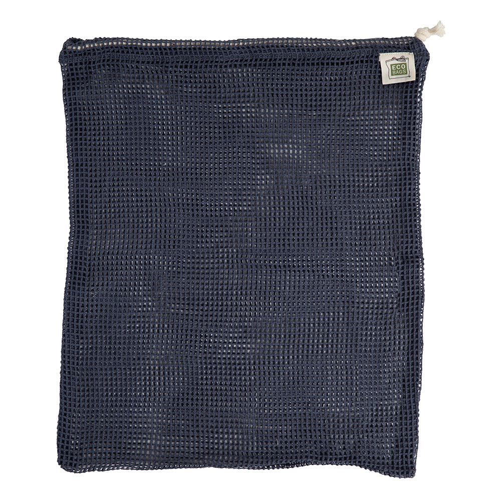 ECOBAGS® Organic Cotton Reusable Produce Bag- Storm Blue