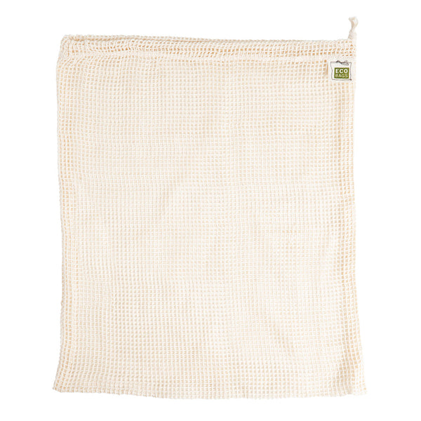 ECOBAGS® Organic Cotton Reusable Produce Bag- Natural
