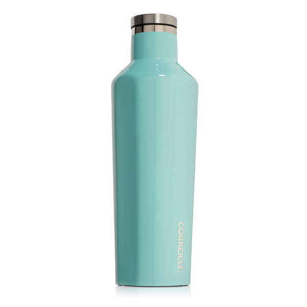CORKCICLE. Gloss Turquoise Canteen 16 oz.