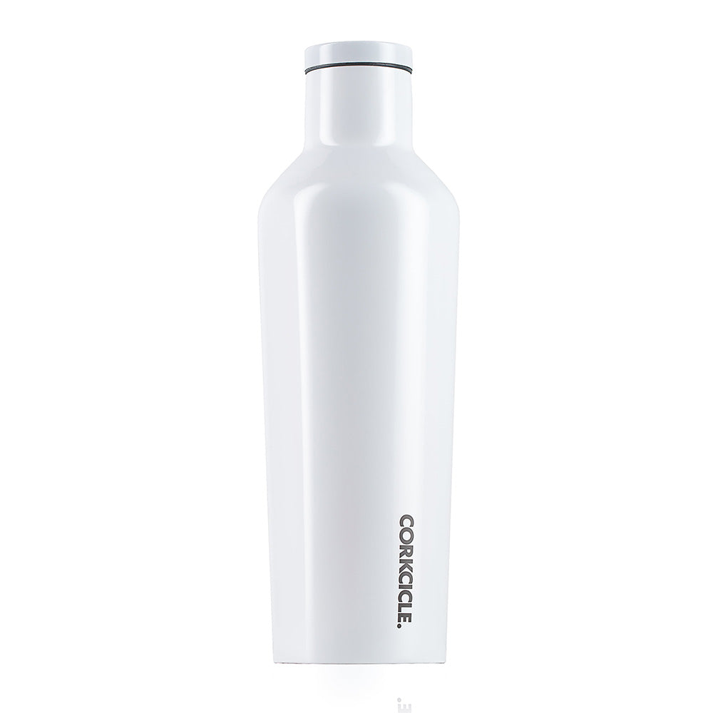 CORKCICLE. Gloss White Canteen 16 oz.
