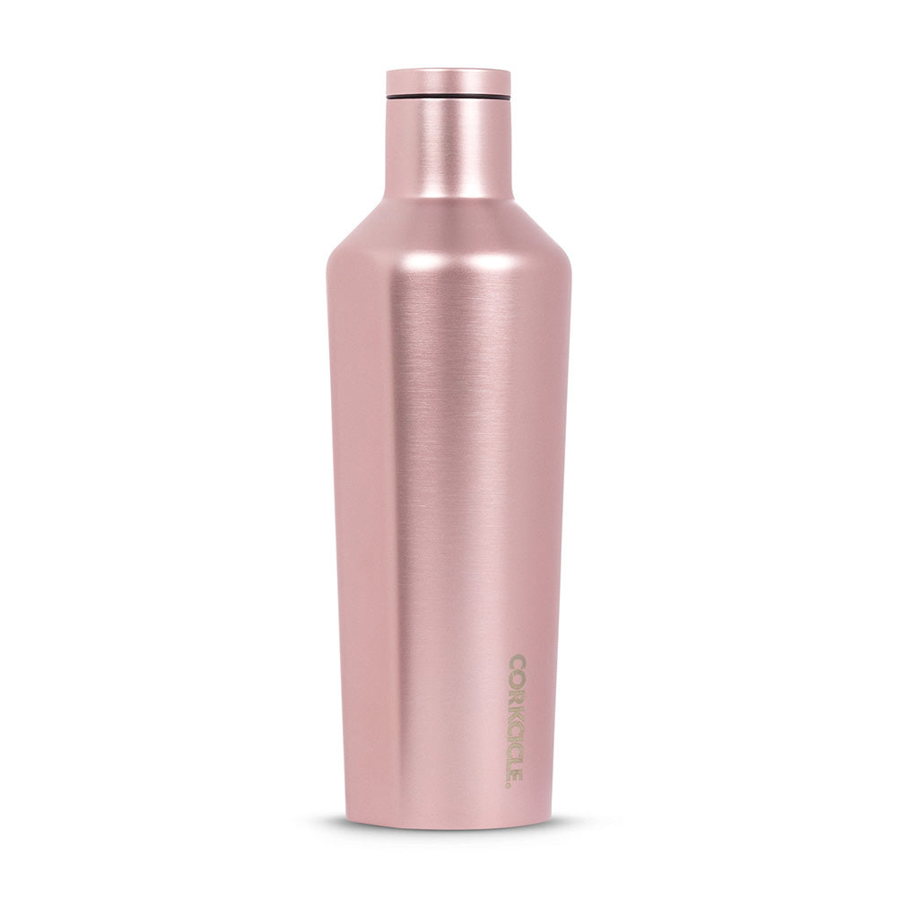 CORKCICLE. Rose Metallic Canteen 16 oz.
