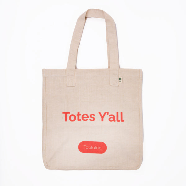 Hemp Market Tote- Totes Y'all