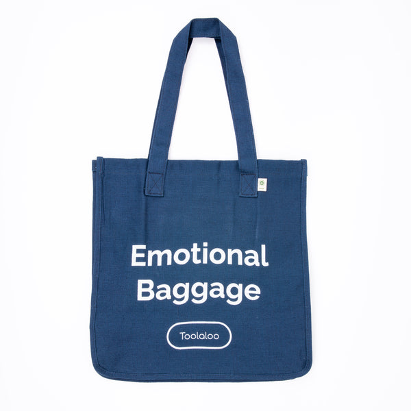 Hemp Market Tote- Emotional Baggage