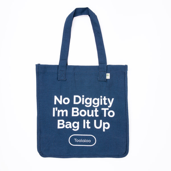Hemp Market Tote- No Diggity I'm Bout To Bag It Up 🎶