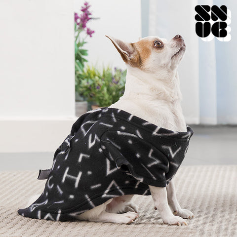 Image of Symbols Snug Snug One Doggy Dog Blanket with Sleeves