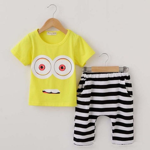 Boys Minion Shirt