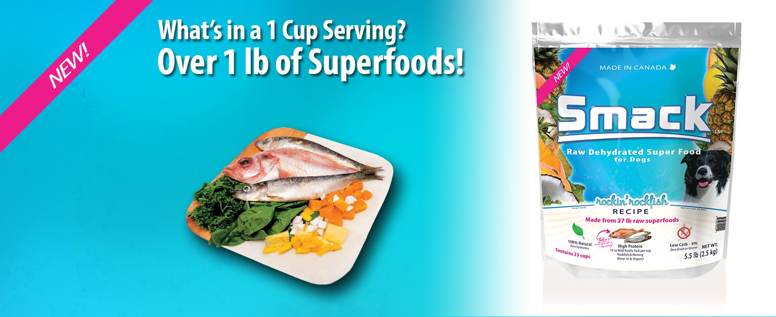 What's in a 1 Cup Serving? Over 1 lb of Superfoods!