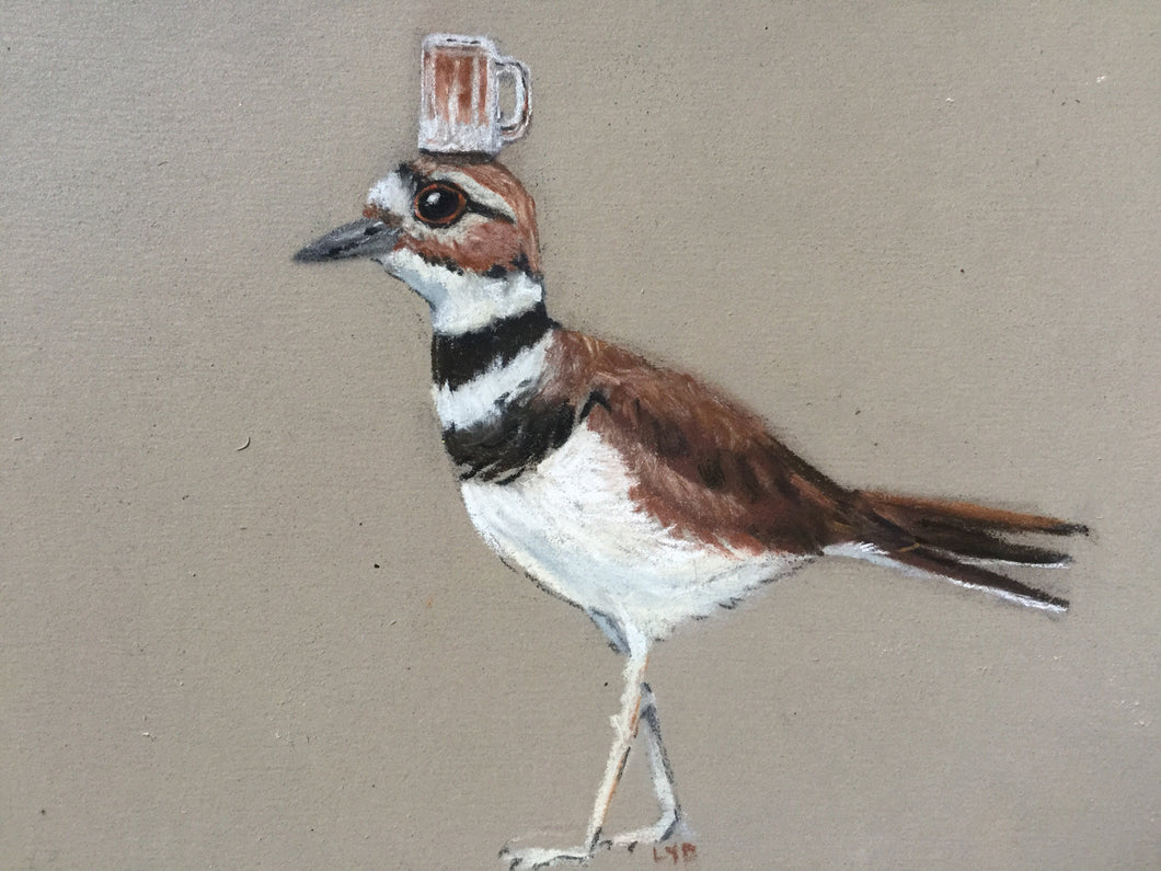 Killdeer with a Rootbeer