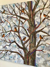 Round of Robins in Old Burr Oak