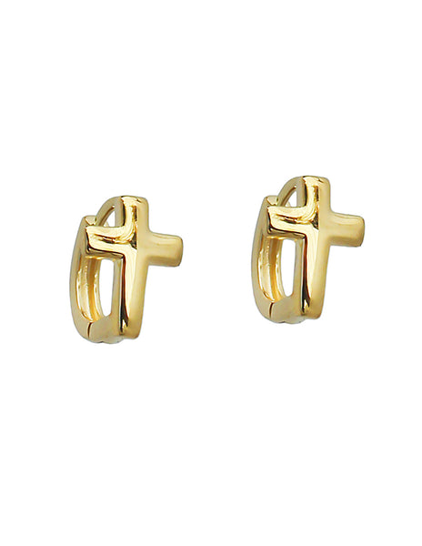 ARETES HUGGIES CRUZ
