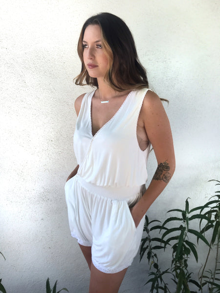 the karley (nursing day/night romper)