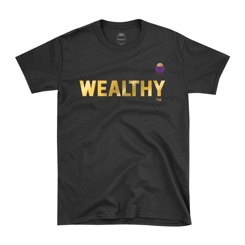 WEALTHY Gold – Men Tee