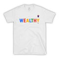 WEALTHY Multi-Color – Men Tee