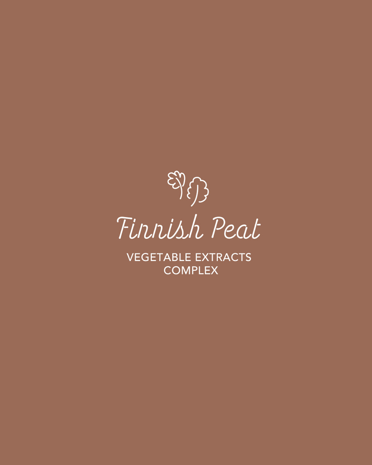 Finnish Peat!  Deep Clean Wash Off peat Mask formulated with 5% of original peat from Finland gently absorbs excess oil and impurities.   The Peat helps to tighten the appearance of pores and dissolve dead skin cells.
